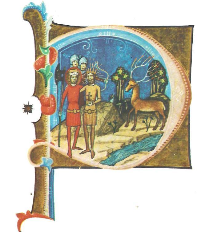 3. ábra: Géza és László látomása 1074 táján