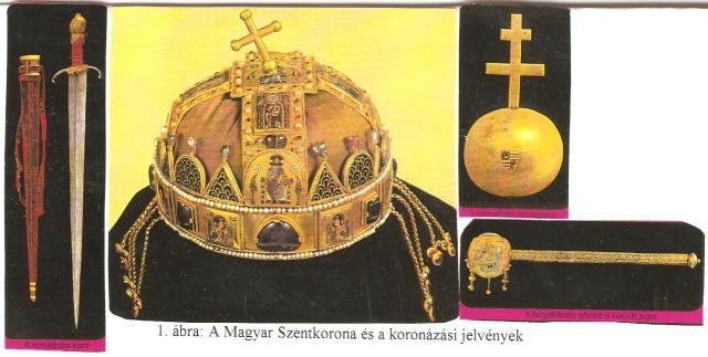 A Magyar Szentkorona és a koronázási jelvények