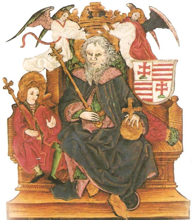 Szent István képe a Thuróczy-krónikában