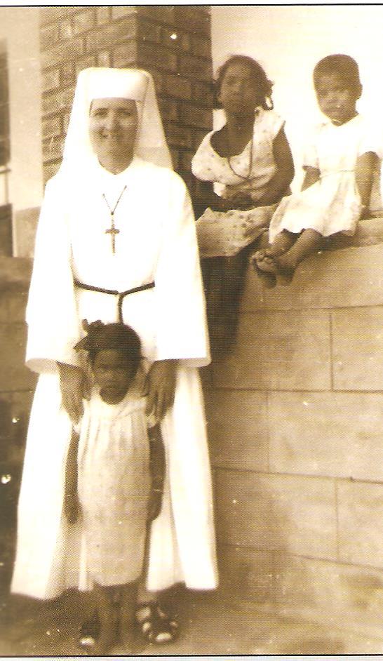 Teréz missziós nővér Tongoban