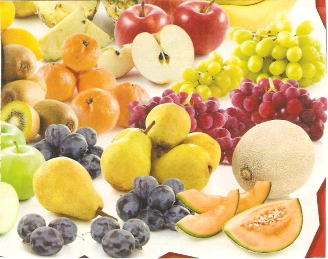 A friss gyümölcs életenergiát ad