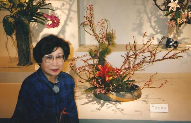 Ikebana tanárnőnk, Jaszumaru szenszei