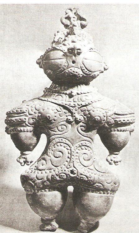 Jómon-kori anyaistennő szobor