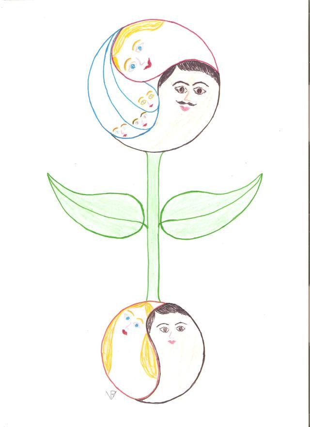 Hármas egységűvé vált életfa