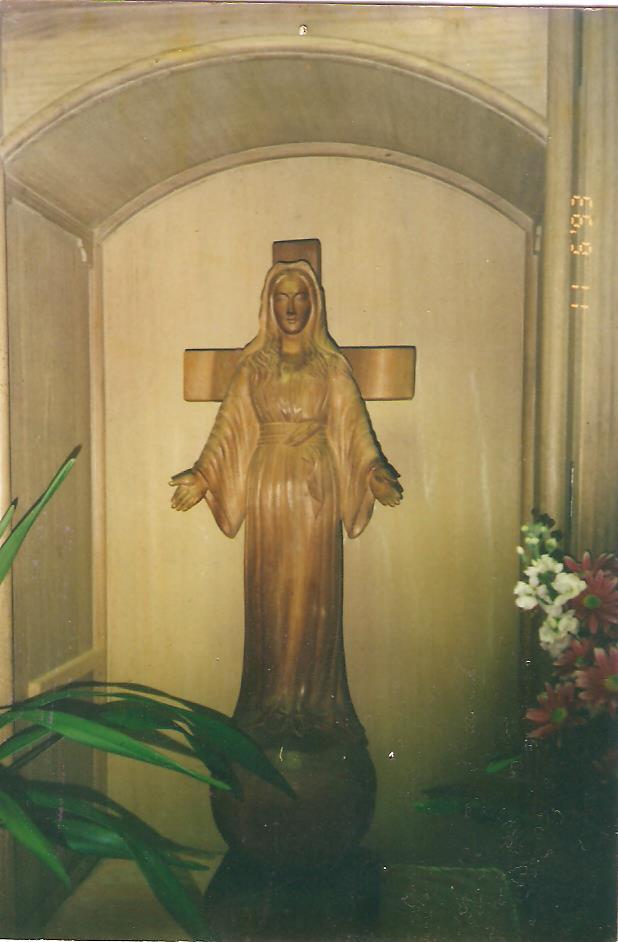 Az akitai egykor könnyező Mária szobor