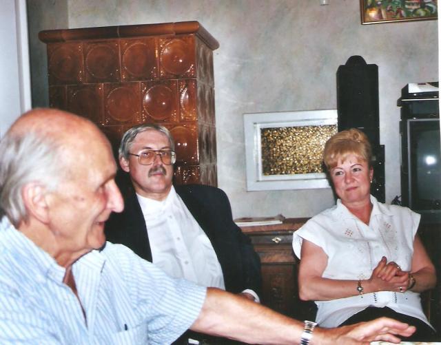 Falvay Károly Molnár Lászlóval és dr. Balogh Ildikóval